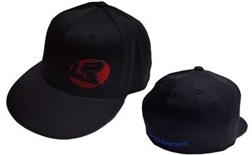 Picture of Lund Racing Black Flat Bill Hat  Sm size only