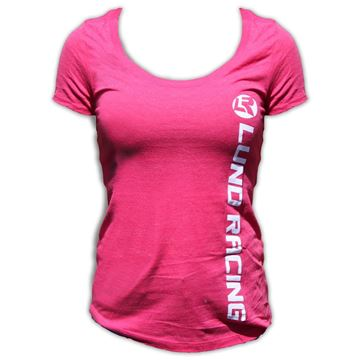 Picture of Ladies  Lund Racing Scoop Neck T-Shirt